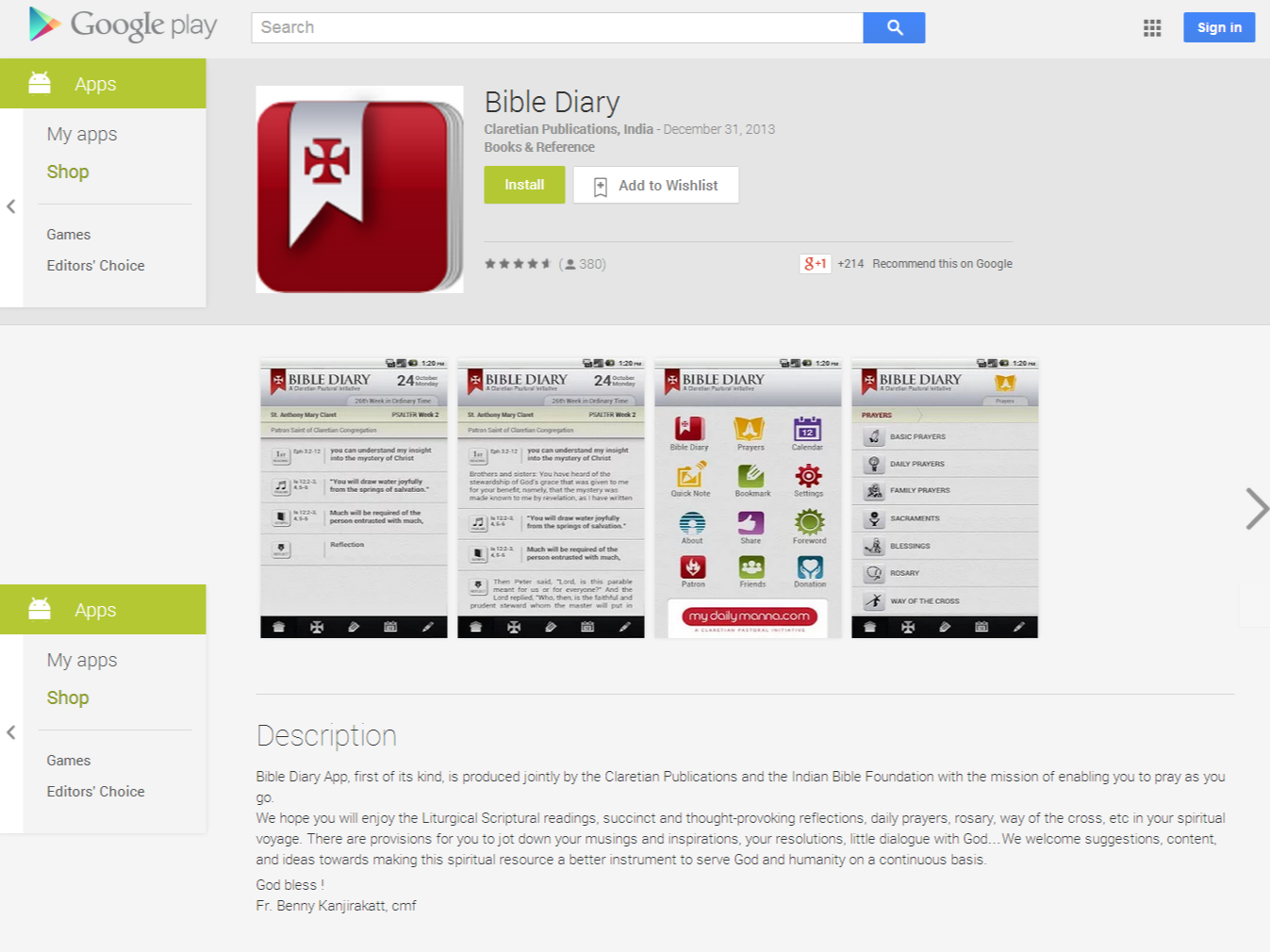 Bible Diary – Android Apps on Google Play